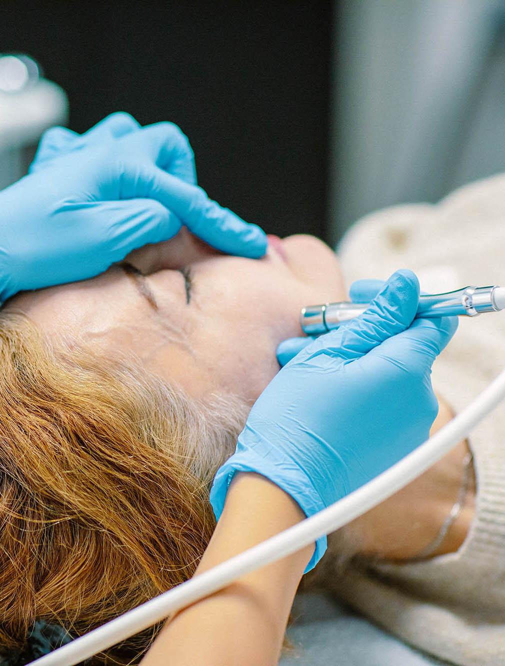 huidtherapie tegen huidveroudering